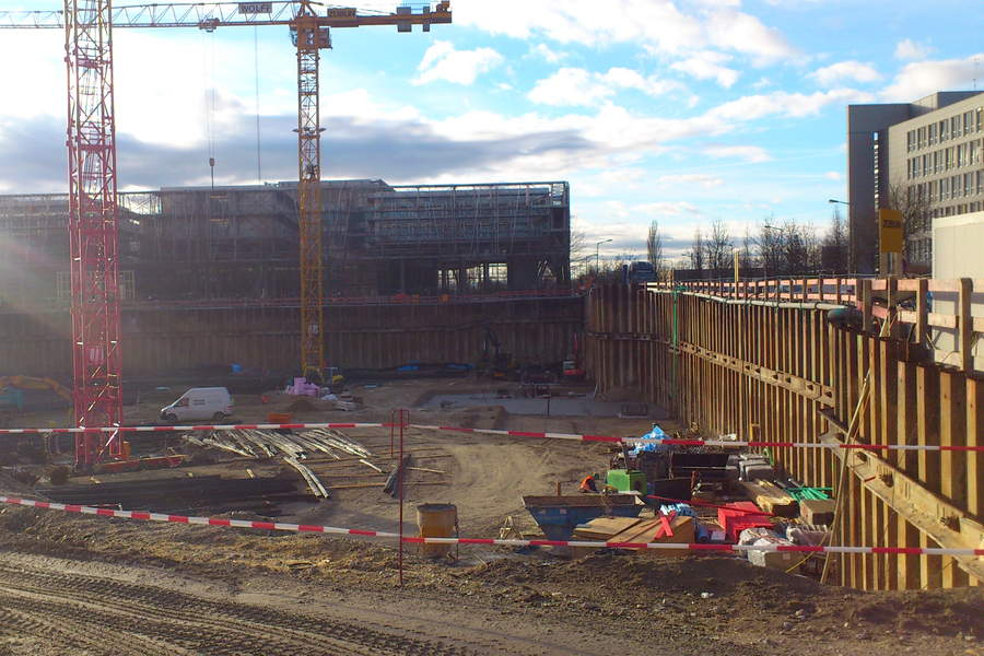 Building Pit Allianz Campus Unterföhring